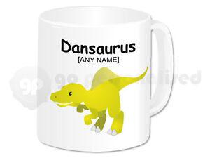 Personalised-Polymer-Plastic-Mug-Dinosaurs-Design-Spinosaurus