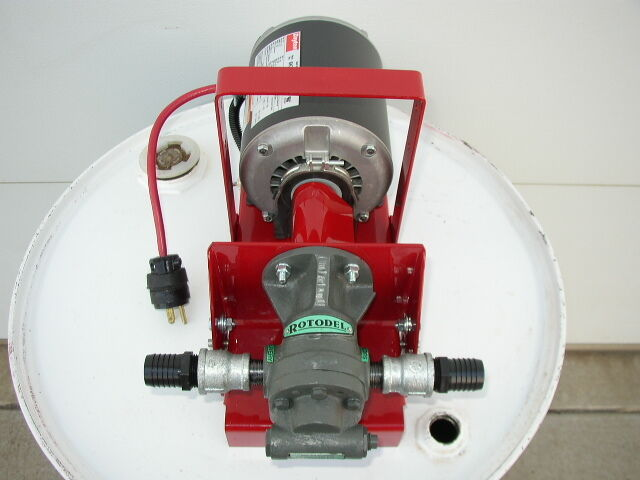 New 10 Gpm Gear Pump Waste Oil Transfer Heaters Burners