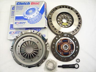 Exedy Clutch & Xtd 10lbs Flywheel Kit 88 89 Corolla Gts 1.6l Fwd 4age Ae86