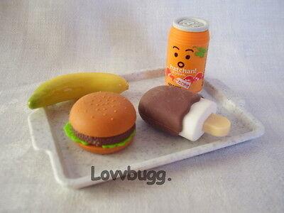 "Lovvbugg School Lunch A Food for 18"" American Girl Doll Accessory"