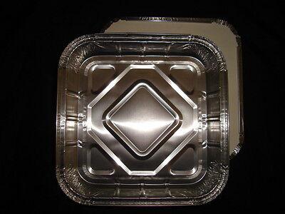 10 X Foil Container 9x 9 (240 X 240 X 35) Fast Food Takeaway Kebab (0305/25)