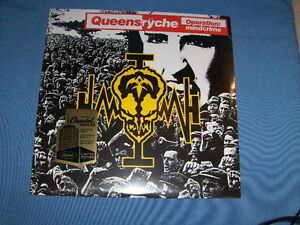 QUEENSRYCHE OPERATION MINDCRIME 180 GRAM  VINYL LP SEALED BRAND NEW