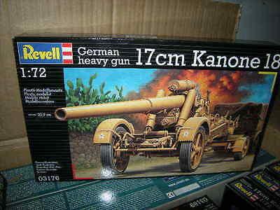 1:72 Revell German Heavy Gun 17 cm Kanone 18 Nr.03176 OVP
