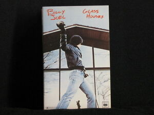 BILLY-JOEL-GLASS-HOUSES-Cassette-tape