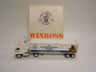 Winross Pennsylvania House 60th Anniversary Mack w/ Van Trailer 1993 Ltd Ed  Anniversary House Ltd