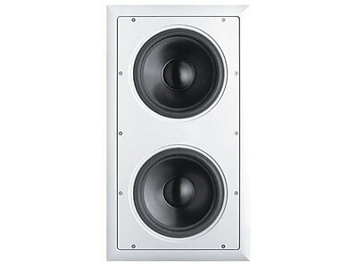 """New Audioaccess / JBL Dual 8"""" in-wall subwoofer AAS88 Audio Access"""