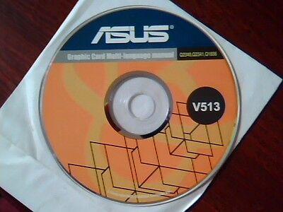 Driver Support Cd Asus Graphic Card Multi Language Manual V513 Q2340 Q2341 Q1836