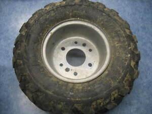 right front wheel tire rim 2000 yamaha yfm80 badger yfm 80