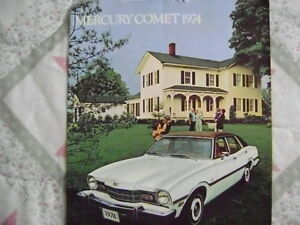 1974 Mercury Comet Sales Brochure