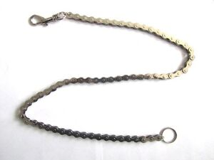 Bike-Bicycle-Chain-Long-Heavy-Keyring-with-Hipster-80cm