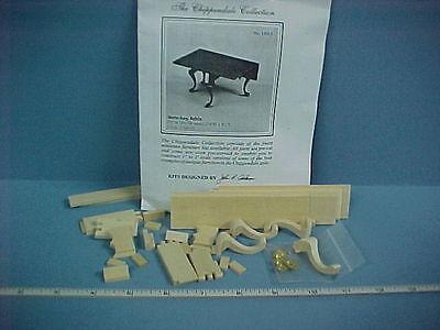 Dollhouse Miniature Chippendale Gate-leg Table Kit - Circa 1760-70 13015