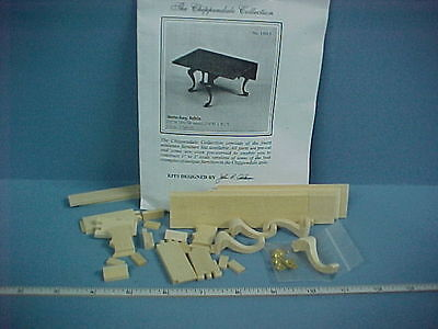 Dollhouse Miniature Chippendale Gate-leg Table Kit - Circa 1760-70 13015