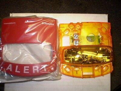 Simplex Truealert 4906-9108 Fire Alarm Strobe Light