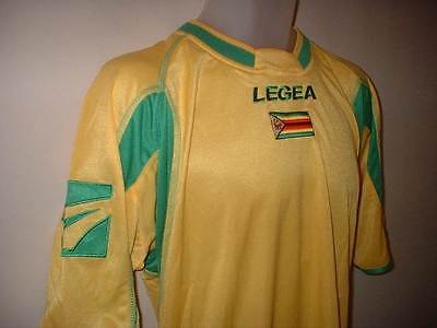 Zimbabwe Football Soccer Shirt Jersey Legea Africa Sizes Adult M L Xl