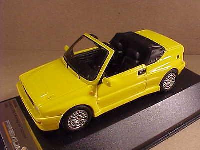 Premium X 1/43 Resin '92 Lancia Delta Integrale Open Top Cabrio, Yellow Pr0198
