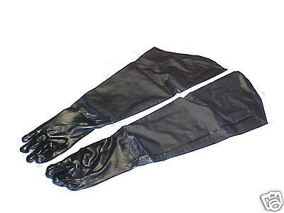 31 Long Heavy Duty Rubber Coated Work Gloves