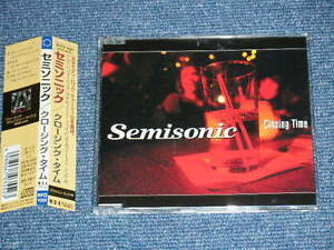 SEMISONIC Japan 1998 Maxi CD +Obi CLOSING TIME