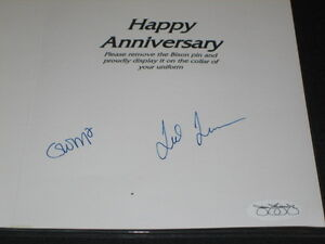 TED-TURNER-AUTOGRAPHED-SIGNED-8-5X11-HAPPY-ANNIVERSARY-CARD-JSA-COA-RARE-LEGEND