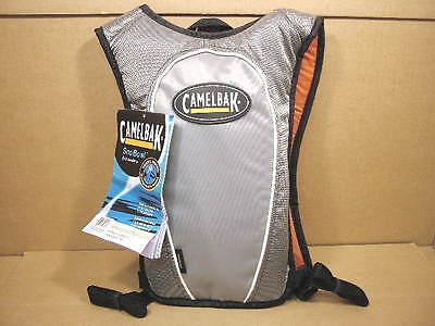 New-old-stock Camelbak Snobowl Hydration Pack...orange/gray