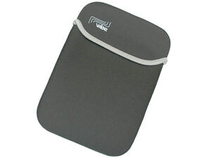 Grey Neoprene Sleeve Case Cover 8.9