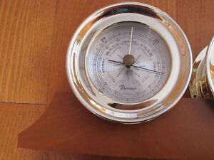 SHIPS CLOCK AND BAROMETER Cornwall Ontario image 2