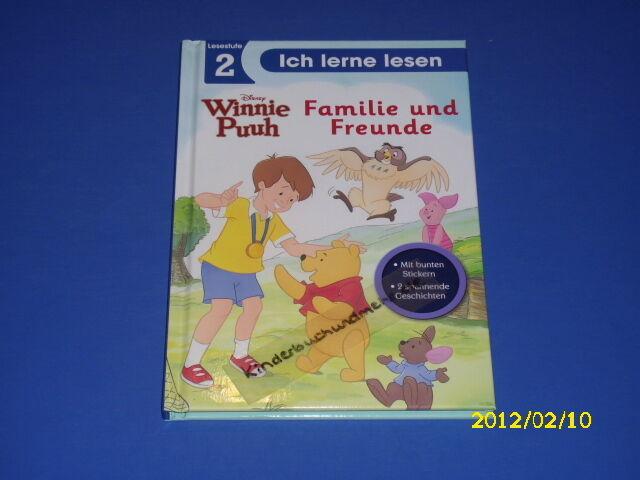 Ich lerne lesen - Winnie Puuh Familie und Freunde