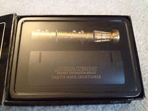 master replicas darth maul star wars gold lightsaber 45. Black Bedroom Furniture Sets. Home Design Ideas