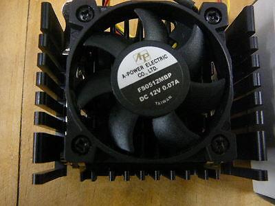 Brushless Dc Fan Assembly 12v .07a 50x10 3-wire A-power Fs0512mbp 1/pkg