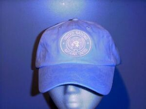 UN-United-Nations-Hat-Cap-Brand-New-Unused-Unworn-Color-Blue-Cap-Material-Cotton