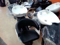 lavabo de coiffure avec chaise