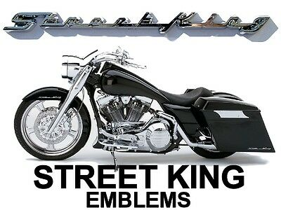 street King Fender / Saddlebag Emblems For Harley Davidson Road King Roadking