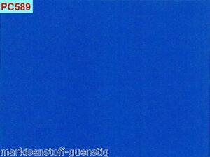 Persenningstoff 205 cm Breit Farbe h.Blau 300 Gramm pro qm Polyestergewebe PC589