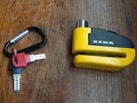 Zena wheel lock