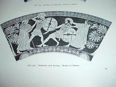 Aegina, Heiligtum der Aphaia, von A. Furtwängler 1906 - Textband
