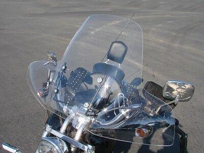 """LARGE 20""""x35"""" Windshield for Suzuki Cruiser Savage Intruder Volusia Boulevard"""