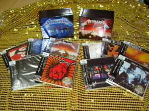 METALLICA-Limited-1st-Pressing-10-SHM-CD-Twin-Promo-Box-set-Japan-ULTRA-RARE