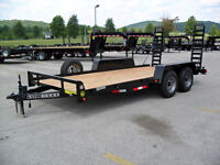 2014  10k 18 ft Equipment, Skid Steer Trailer, Car Hauler