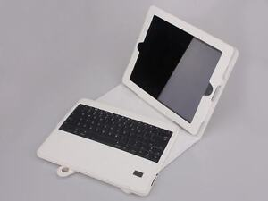 WHITE-iPad3-Leather-Case-Removable-Bluetooth-Wireless-Keyboard-New-iPad-3rd-Gen