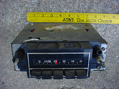 GM 70s maybe AM RADIO DELCO OLDS CHEVY BUICK PONTIAC