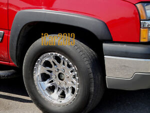 Factory Style Fender Wheel Flares Fender Opening Moldings - 4 Pieces