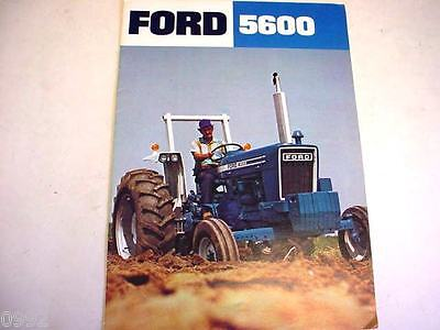 Ford 5600 Farm Tractor Brochure  *