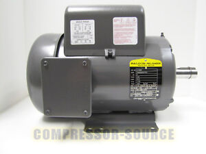 5 hp single phase baldor electric compressor motor 184t ... 5 hp 1 phase 230 volt wiring