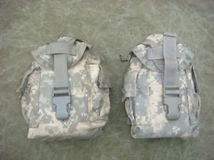 Molle-II-Canteen-and-Utility-Pouch-ACU-Digital-Camo-Pattern-Lot-of-two-2