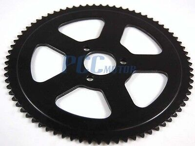 Mini Dirt Pocket Bike Rear Sprocket 74t For 25h Chain 47cc 49cc H Rs16