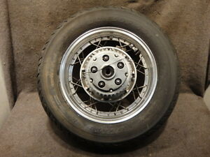 86 87 Honda CMX450 CMX 450 Rebel Wheel Rear Rim Tire DDD91  eBay