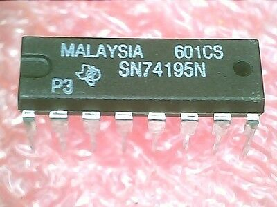 Ic 74195 Sn74195n Shift Register 16 Pin Plastic Dip 2pcs Per Lot