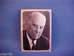 alfred p sloan jr gm chairman of the board collector card from old set