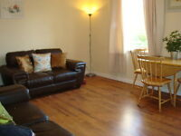 603 - Bright and sunny 2 bedroom flat available on Ferry Road Avenue from 13 April!