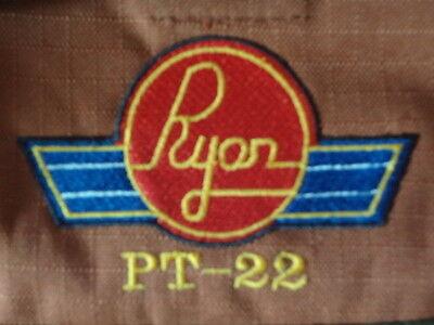 Ryan Aircraft Logo/ Pt-22/navion new All Black Custom Tool Roll