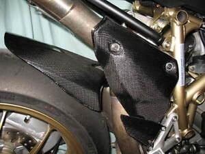 ducati 1098 848 1198 carbon fibre rear hugger